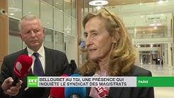 Nicole Belloubet au TGI, une présence qui inquiète le syndicat des magistrats (VIDÉO)