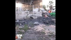Automates incendiés, équipements détruits… Le péage de Bandol complètement ravagé dans le Var