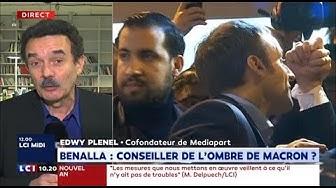 """Edwy Plenel (Mediapart) : """"Il y a une énigme dans le lien entre Benalla et Macron"""" (VIDÉO)"""