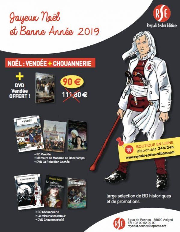 Offre spéciale Noël : Vendée + Chouannerie (Reynald Secher)