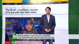 Quand les détracteurs de RT France reprochent à ses reporters… de porter un casque