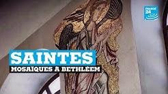Les mosaïques de la basilique de la nativité à Bethléem ont retrouvé leur éclat