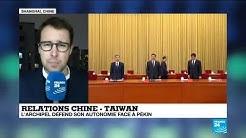 """""""L'armée chinoise multiplie les manœuvres militaires autour de Taïwan"""""""