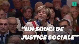 Devant Emmanuel Macron, le maire de Montauban Brigitte Barèges critique l'aide médicale d'État (VIDÉO)