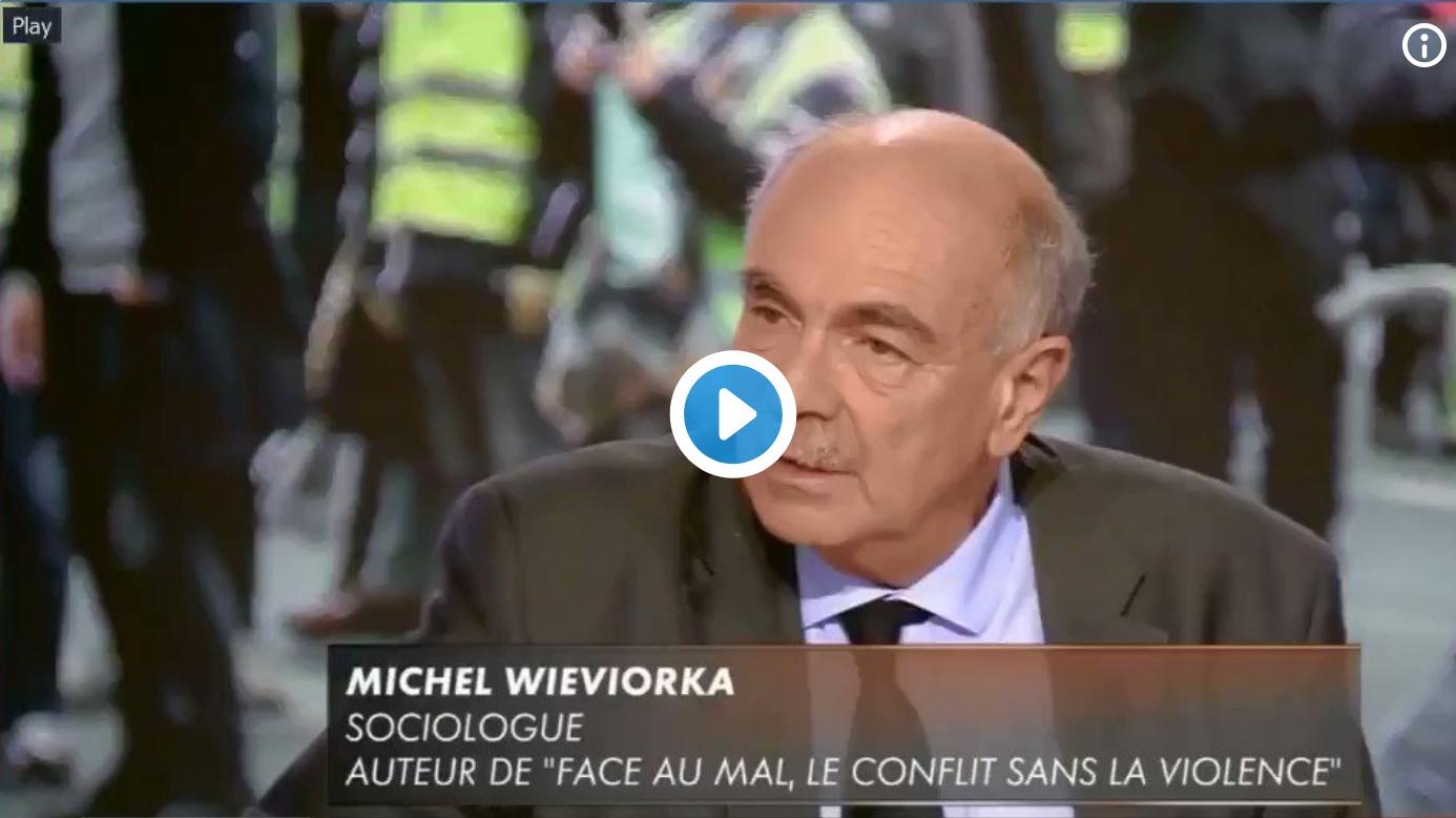 """Après Sylvain Bouloque qui affirmait que le drapeau Picard est un drapeau monarchiste, le sociologue Michel Wieviorka déclare que le """"A"""" de """"Anarchie"""" est un """"symbole d'extrême-droite"""" (VIDÉO)"""