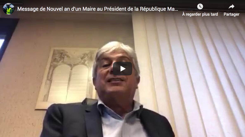 Message de Nouvel an d'un Maire au Président de la République Emmanuel Macron (VIDÉO)
