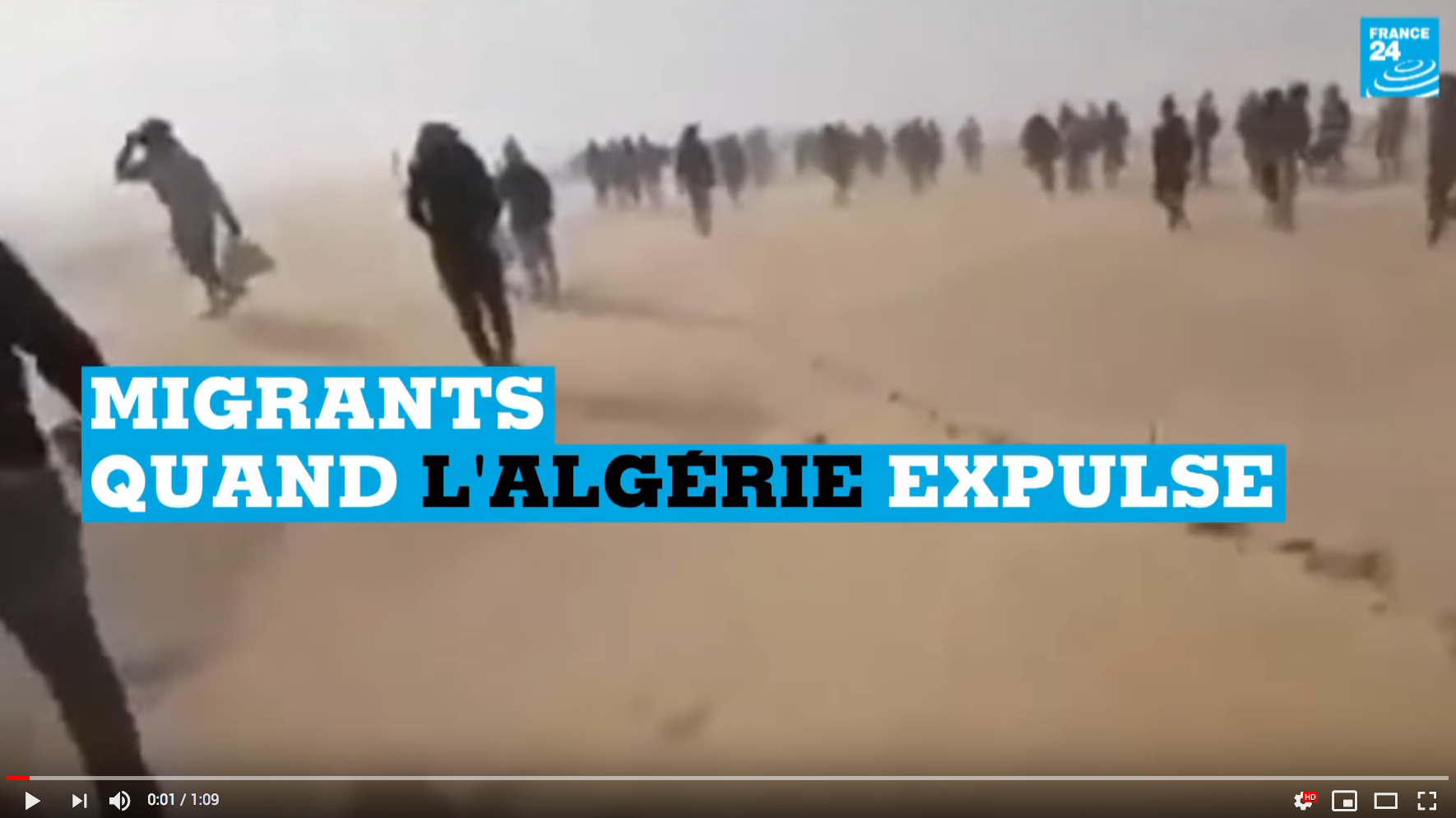 Clandestins : quand l'Algérie expulse (VIDÉO)