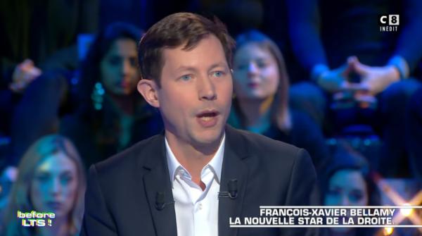 Francois-Xavier Bellamy, la nouvelle star de la droite qui agace les imposteurs, sur le plateau de Thierry Ardisson