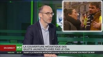 Le CSA s'étonne du succès de RT France auprès des Gilets Jaunes (VIDÉO)