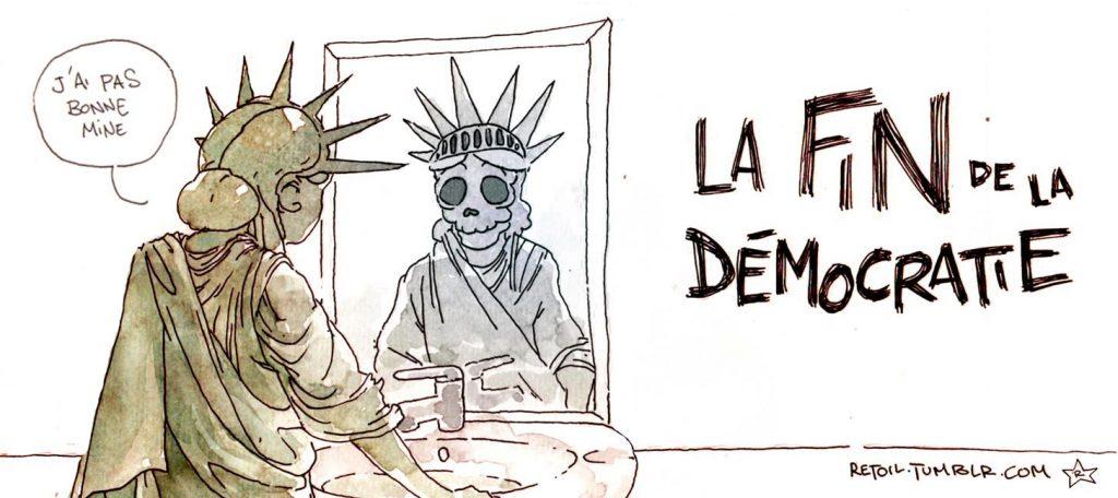 Les Français doutent de la démocratie !