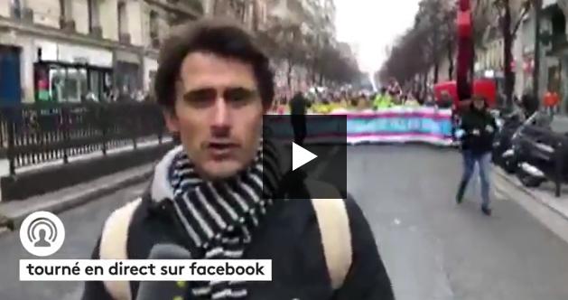 France Info à la Marche pour la Vie (VIDÉO)