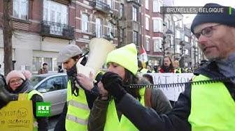 Belgique : la mobilisation des Gilets jaunes continue en dépit des perturbations politiques