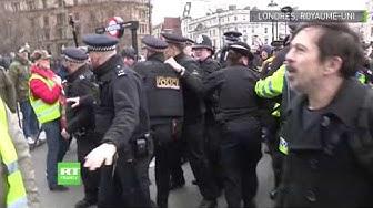 Des Gilets Jaunes manifestent à Londres (VIDÉO)