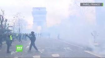 Acte 9 : affrontements à Paris entre forces de l'ordre et Gilets jaunes (VIDÉOS)