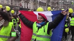 Gilets jaunes : des manifestants de nouveau très mobilisés (VIDÉO)