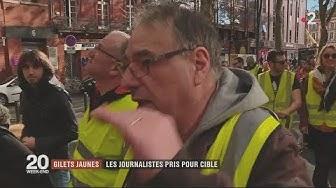 France 2 tente de comprendre la haine anti-journalistes (VIDÉO)