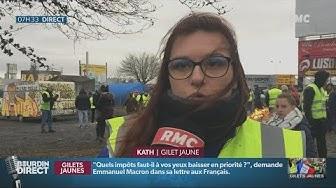 Une Gilet Jaune de Rouen : « Je n'écoute plus Macron, c'est que du mensonge » (VIDÉO)