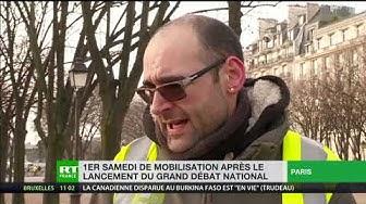 Micro-trottoir : les Gilets Jaunes n'attendent rien du Grand débat national (VIDÉO)