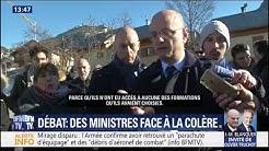 Parcoursup : échange tendu pour Jean-Michel Blanquer à Briançon (VIDÉO)