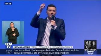 """Européennes : Bardella (RN) veut que """"Castaner ait les larmes aux yeux"""" le soir du 26 mai (VIDÉO)"""