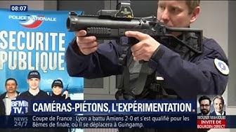 Face à la polémique, les policiers armés de LBD désormais équipés de caméras-piétons