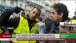 Un Gilet Jaune : « Que Macron s'en aille avec sa mafia, sa clique Castaner & cie ! » (VIDÉO)