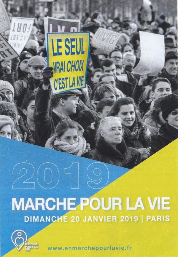 Marche pour la Vie 2019 : c'est ce dimanche à Paris !