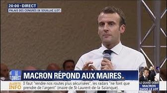 """""""Le sujet de l'immigration ne doit pas être un tabou"""", Macron répond au maire de Montauban (VIDÉO)"""