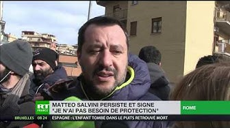 France – Italie : Matteo Salvini renchérit (VIDÉO)