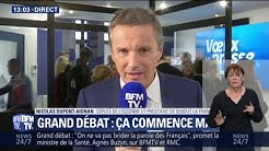 """Pour Nicolas Dupont-Aignan, le débat national """"a déjà fait pschitt"""" (VIDÉO)"""