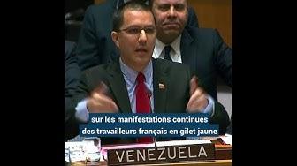 Quand les gilets jaunes s'invitent dans un débat à l'ONU (VIDÉO)