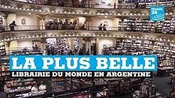 Argentine : la plus belle librairie du monde