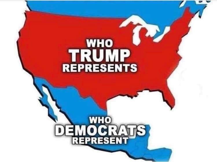Qui représentent Donald Trump et les Démocrates