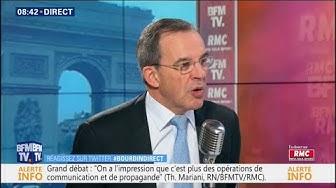 """Thierry Mariani : """"La France Insoumise a choisi l'islamo-gauchisme, nous sommes à l'opposé"""""""