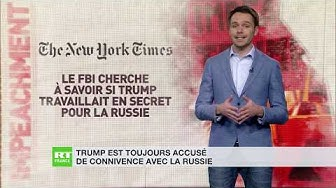 Trump, un agent russe ?