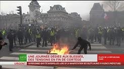 Acte 12 : retour sur les affrontements entre Gilets jaunes et forces de l'ordre à Paris