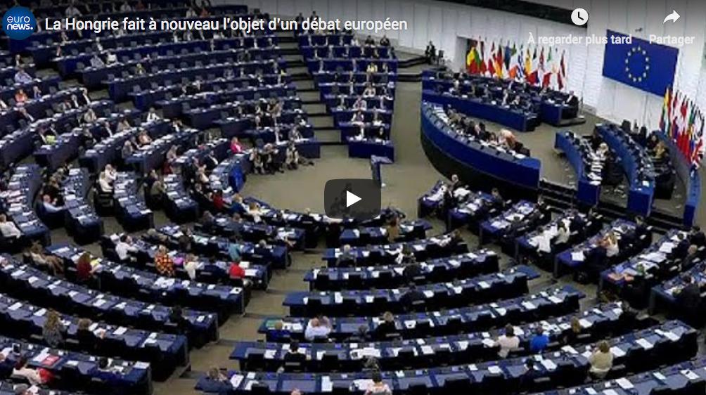 UE : Les eurodéputés rejettent les candidats hongrois et roumain à la Commission