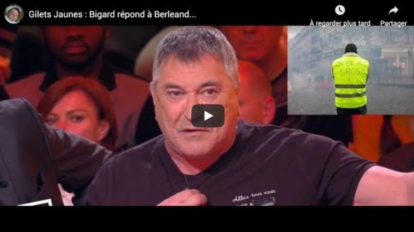 """Jean-Marie Bigard répond à François Berléand : """"Les Gilets jaunes, ils bossent !"""" (VIDÉO)"""