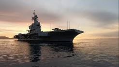 Embarquez à bord du porte-avions Charles-de-Gaulle, entièrement rénové et modernisé (VIDÉO)