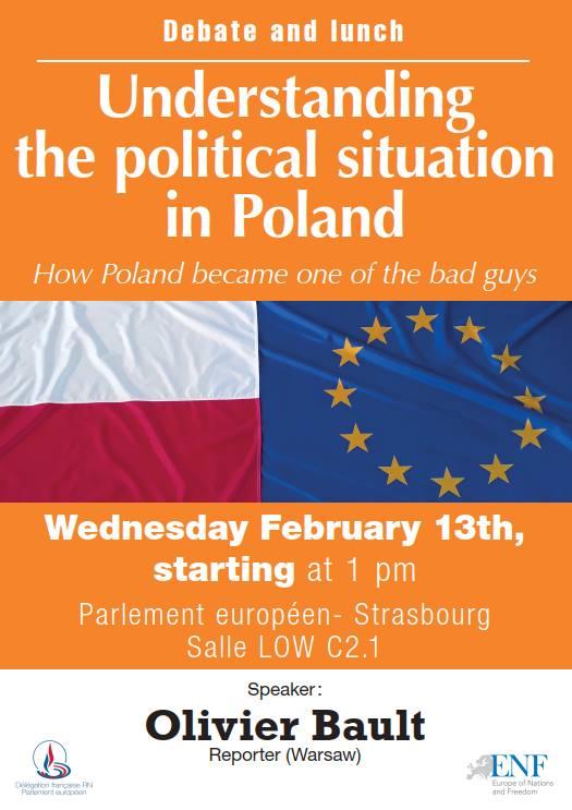 Conférence : Comprendre la situation politique en Pologne