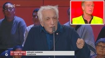"""Gérard Darmon traite Franck Dubosc de """"bouffon"""" pour avoir lâché les Gilets Jaunes (VIDÉO)"""