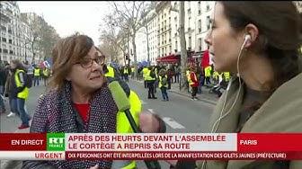 Francine, retraitée et Gilet Jaune, participe à cet acte 13 pour soutenir le mouvement (VIDÉO)