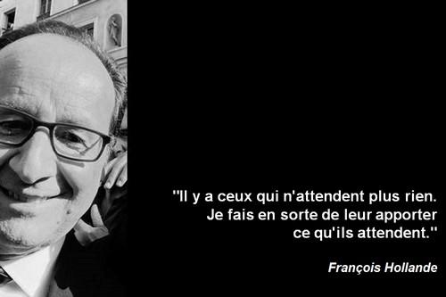 Les Français n'auraient pas confiance dans leurs élus ? Comme c'est étrange !