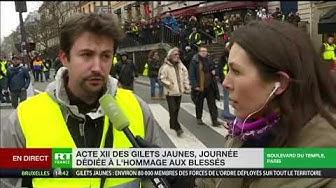 Julien, Gilet Jaune, ne veut pas donner une légitimité au Grand débat national en y participant (VIDÉO)
