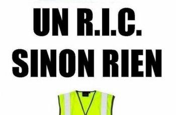 Une marche de Gilets jaunes vers Paris pour faire inscrire le RIC dans la Constitution