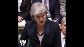 Pour la première fois, Theresa May envisage de reporter le Brexit