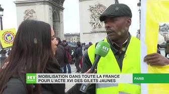 Selon Alain, Gilet Jaune, « le peuple veut plus s'impliquer dans la vie politique » (VIDÉO)