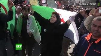 Algérie : heurts entre la police et des manifestants anti-Bouteflika (VIDÉO)