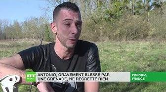 Antonio, Gilet Jaune, blessé au pied par un éclat de grenade, continue de se mobiliser (VIDÉO)