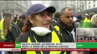 Arlette, Gilet Jaune, vient pour la première fois à Paris malgré la peur des LBD (TÉMOIGNAGE)